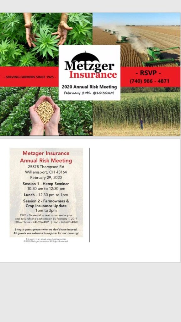 annual risk meeting for farm and crop insurance